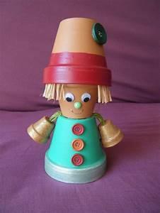 Pots En Terre Cuite Carrefour : personnage en pot de terre cuite jardin pinterest ~ Dailycaller-alerts.com Idées de Décoration
