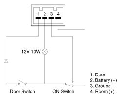kia sorento room lamp inspection lighting system body
