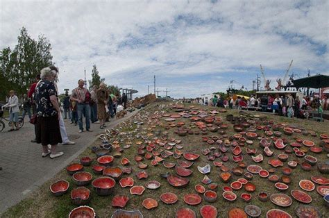 Līvas ciema tirgus 2012 sācies   Pottery, Ceramics, Latvian