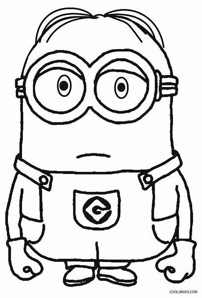 Despicable Minions Coloring Minion Pages Drawing Printable