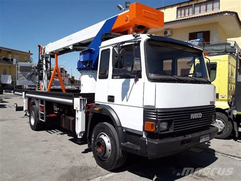 Iveco Fiat used iveco fiat 145 telescopic boom lifts year 1989 price