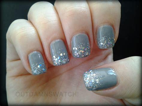 Grey Glitter Gradient