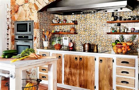 small rustic kitchen island 20 rustic kitchen shelving ideas with timeless rugged charm 5546