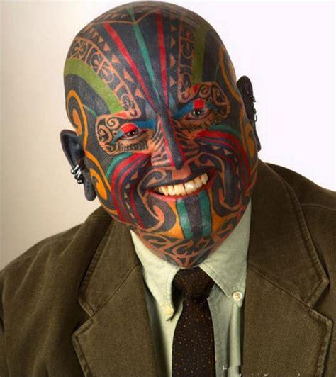 facial tattoo designs