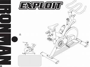 Download Ironman Fitness Exercise Bike 100125 Manual And