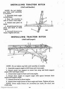 John Deere Van Brunt Model B Grain Drill Operators Manual