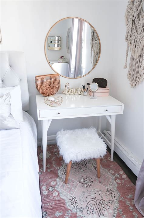 vanity ideas for small bedrooms styling a vanity in a small space the 20062 | 62d3d7bc383eb1e705adc55e1c463959