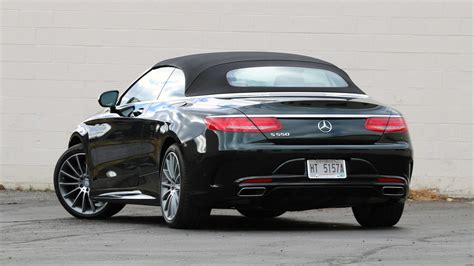 Request a dealer quote or view used cars at msn autos. 2017 Mercedes-Benz S550 Cabriolet Review: All the luxury you need