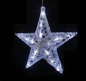 Weihnachtsstern Außen Led : beleuchteter led stern acrylstern acrylfigur innen ~ Watch28wear.com Haus und Dekorationen