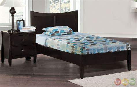 8 Milan Bedroom Set Espresso by Espresso Platform Bedroom Set With Dovetail