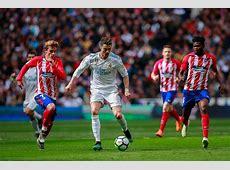 Real Madrid vs Atlético Liga española, Resultado, Goles y