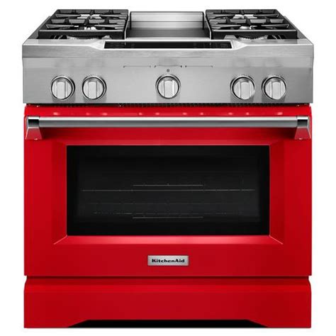 lowes appliance packages kdrs463vsd kitchenaid 36 quot 4 burner with griddle commercial