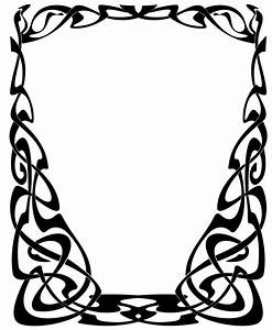 Art Nouveau frame3 by Lyotta on DeviantArt