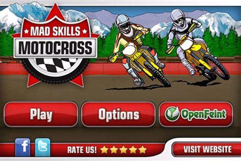 motocross mad skills mad skills motocross for iphone ipad ipod touch challenge
