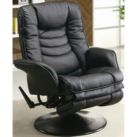 Reclining Chair Bed by Sleek And Modern Leatherette Chair Living Room Chairs