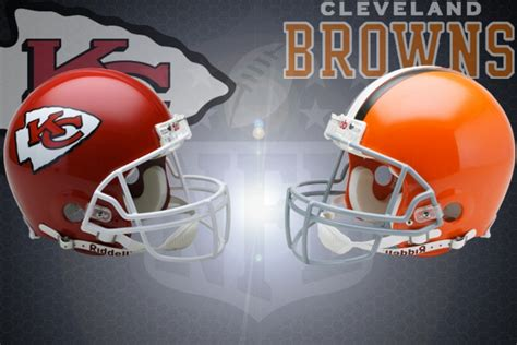 nfl week   kansas city chiefs  cleveland browns