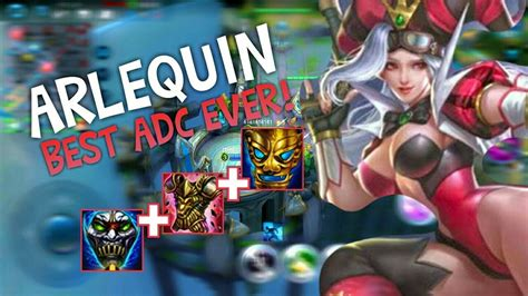 New Hero Arlequin! 100% Awesome!! Best Build (heroes