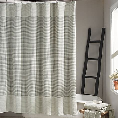 dkny shower curtain dkny 174 network shower curtain in platinum bed bath beyond