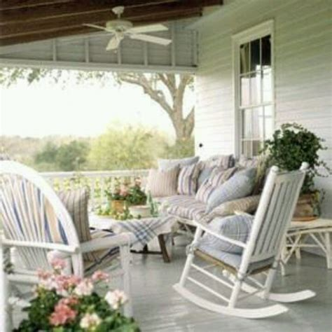 Country Porch Outside Awesome Pinterest