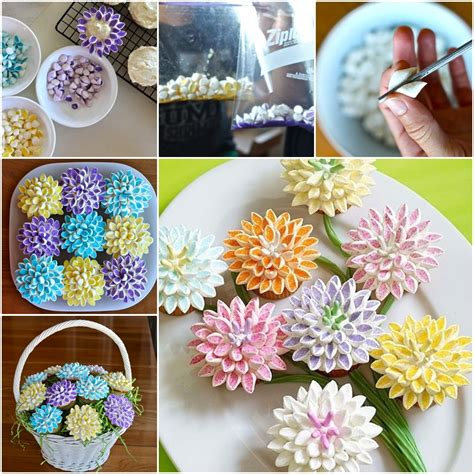 topping ideas for cupcakes wonderful diy marshmallow flower cupcake topping