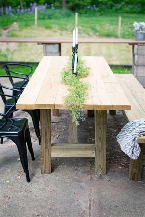 diy  outdoor farmhouse patio table