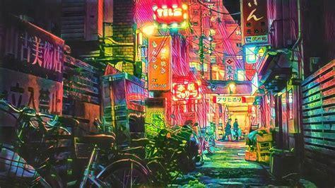 tokyo neon wallpapers top  tokyo neon backgrounds