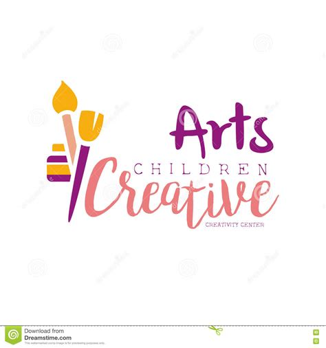 creative kids pencil hand tree design for support or helping concept cartoon vector