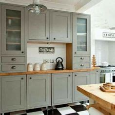 where to get kitchen cabinets grey cabinets black appliances silver hardware 1724