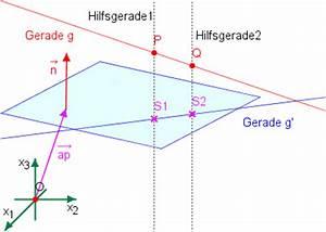 Normalenvektor Berechnen : projektion einer geraden in eine ebene normalenform ~ Themetempest.com Abrechnung