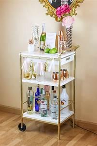 Besteck Gold Ikea : ikea hack gold marble bar cart twinspiration ~ Sanjose-hotels-ca.com Haus und Dekorationen