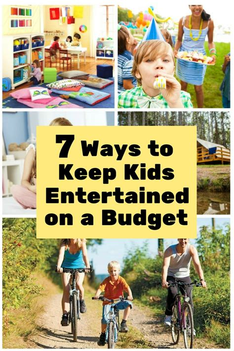 7 Ways To Keep Kids Entertained On A Budget  The Budget Diet
