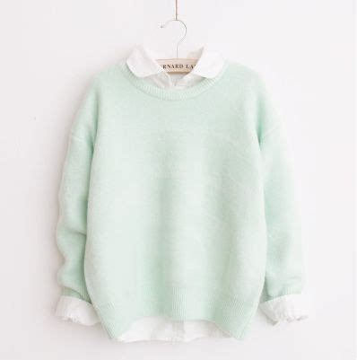 Best 25+ Mint sweater ideas on Pinterest   Pastel fashion Pastel clothes and Pastel sweaters