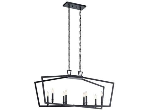 Abbotswell™ 12 Light Foyer Chandelier Black