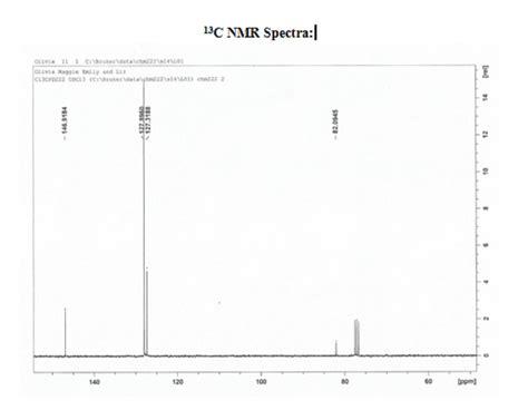 foto de Example of Interpreting NMR for triphenylmethanol Maggie