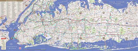 long island map  vandam long island streetsmart map