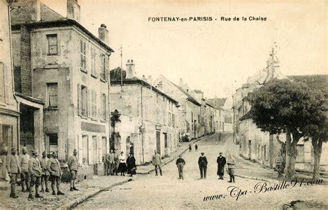 9 rue de la chaise carte postale ancienne fontenay en parisis rue de la
