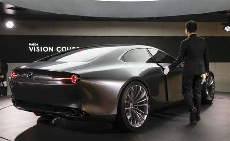 mazda skradla show vision coupe nowa sensacja  japonii