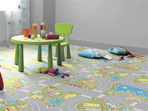 sol pvc chambre enfant chambres d enfants la dynamique par le sol maisonapart