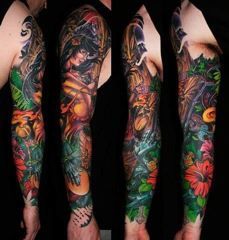 camerons hula sleeve deadly tattoo calgary ab tattoos