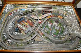 N Scale Train Tables