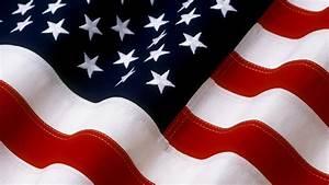 Vertical Vintage American Flag Background