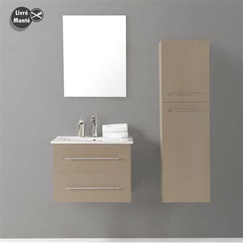 caisson haut cuisine organisation meuble bas salle de bain taupe