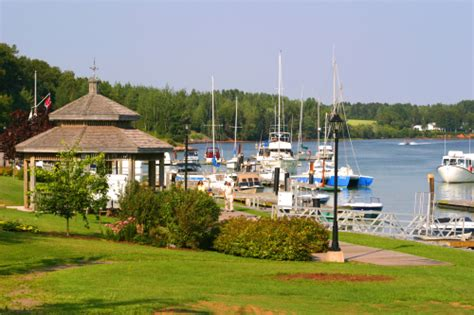 Boat Shop Restaurant Pei by Montague Station Marina Wharf Welcome Pei