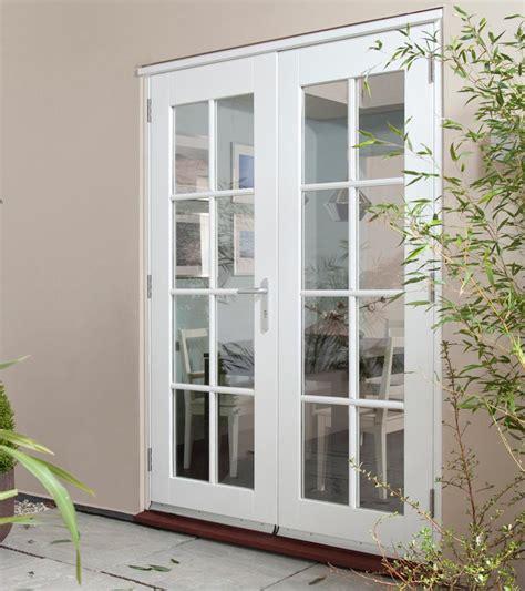 Wellington White French Doorset Georgian, Softwood Patio Doors