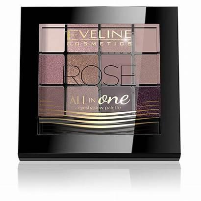 Palette Eveline Eyeshadow Eyeshadows Rose Cosmetics Subtle