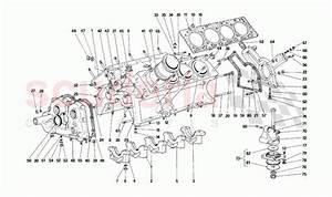 Ferrari F40 Engine Block Parts