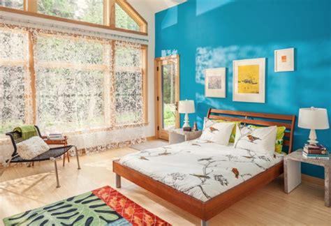 peinture pour mélamine 1001 id 233 es captivantes de peinture chambre adulte en 2 couleurs