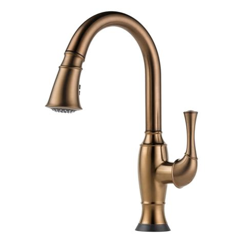 brushed bronze kitchen faucet faucet com 64003lf bz in brilliance brushed bronze by brizo