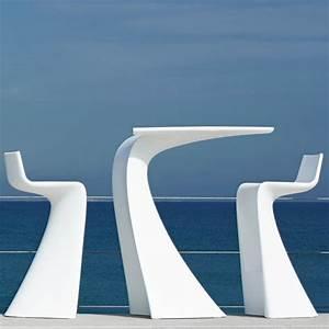 Table Haute Design : table haute de bar wing vondom ~ Teatrodelosmanantiales.com Idées de Décoration