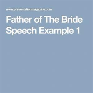 best 25 bride speech ideas on pinterest bride wedding With father of the bride speech templates